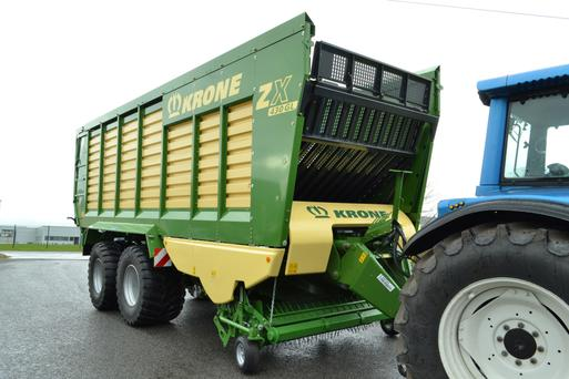 Prices for the new Krone ZX 430GL silage wagon (pictured) start at €120,000 plus VAT.
