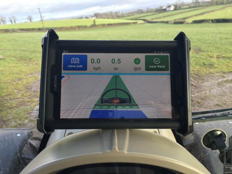 Grass-Guide aims to save farmers money by increasing their driving efficiency in fields when spreading fertiliser and spraying.