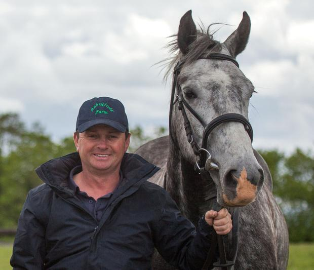 Darragh O'Neill, who runs Abbeyfield Farm outside Clane with his brother Alan.