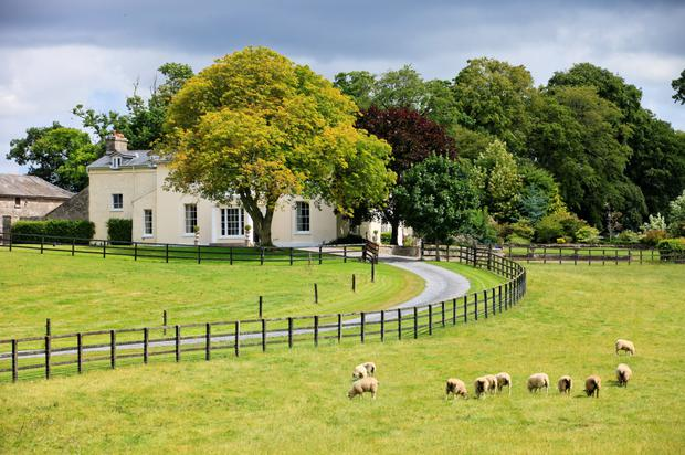 The 19th century residence stands on 189ac of top quality land which is mostly in winter cereals.
