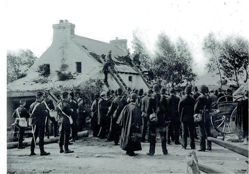 Eviction at Looscaun, Woodford, Co Galway