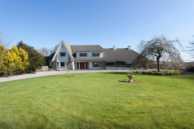 The property located at Moyvilla near Oranmore, Co Galway has its own gym and stands on extensive landscaped gardens. The farmland is laid out in 21 paddocks.