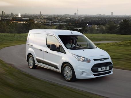 Ford Transit - new models will feature the EcoBlue engines.
