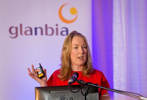 Glanbia group managing director Siobhan Talbot.