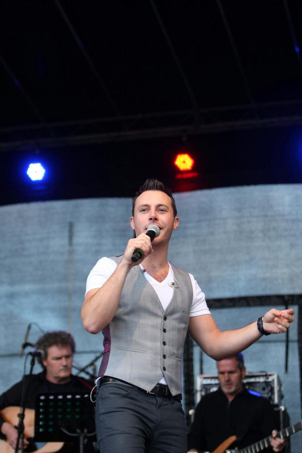 Country singer Nathan Carter