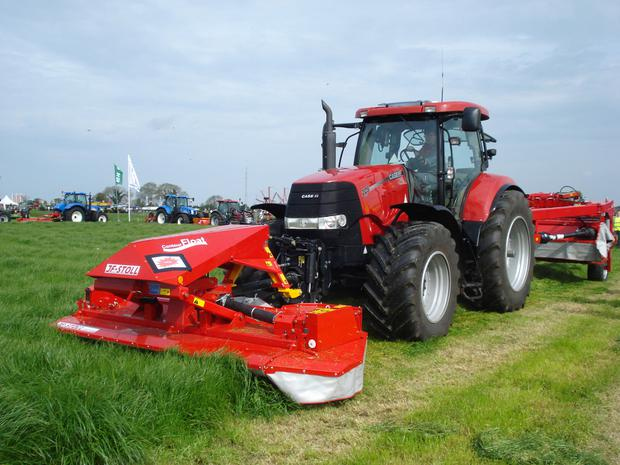 Demonstrations of various types and brands of silage making equipment will be conducted by over 25 firms on 80 acres of grass
