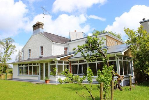 Rushfield House near Boyle is on the market along with 78ac