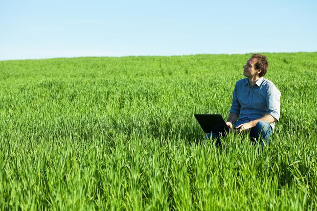 An Amarach survey reported that 25pc of those in rural Ireland now need the internet at home for work.