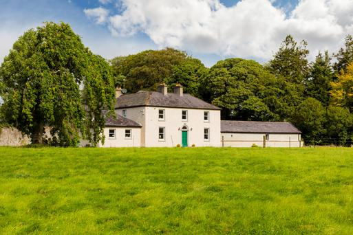 The main residence at Brookville House estate near Carbury dates back to 1732 and is surrounded by 180ac of top quality land.