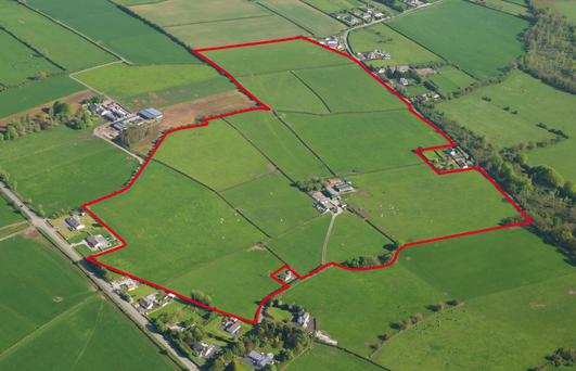 The 65ac residential farm is located at Rathmanna, over a kilometre from Thurles.