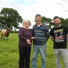 Mary, Gerry and Derek Kelly