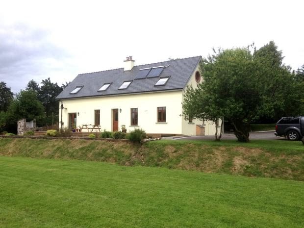 The property on 5ac near Whitegate is guided at €350,000