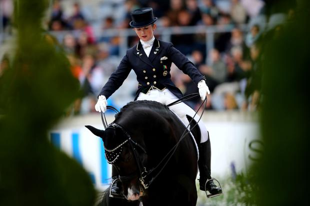 Judy Reynolds will fly the flag in dressage on board Vancouver K.