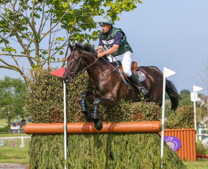 Mark Kyle will represent Ireland at the Olympic Games with the 10-year-old mare Jemilla. Photo: Siobhan English