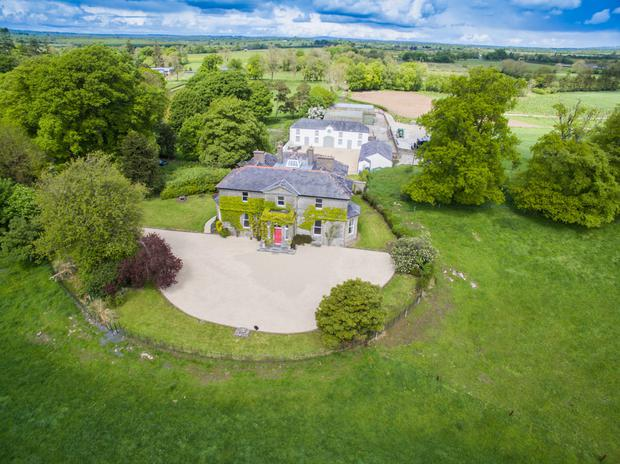Ardglass House stands on 74ac and has extensive farm buildings