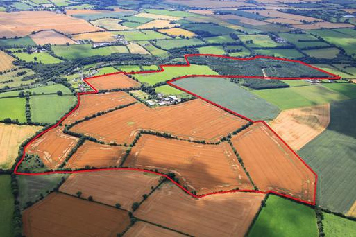 The property at Ballymurphy consists of 187ac