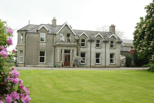 Aghade Lodge in Tullow, which has fishing rights on the River Slaney.