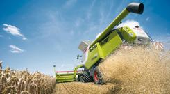 Instead of the Caterpillar engines previously used, all 2017 Lexion 600 range models will now powered by Mercedes-Benz engines