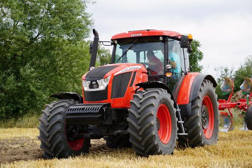 The heavy duty Zetor Crystal 160