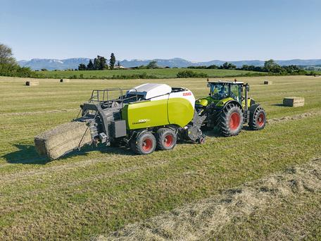 The Quadrant 5200 baler will be on display at the Claas stand in Tullamore
