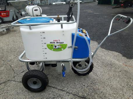 The calf milk trolley range will be displayed on the Connacht Agri stand.