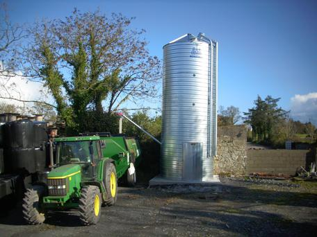 McAree Engineering are changing the material they use to manufacture V-Mac Silos