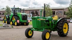 John Deere's 1966 4020 and 2016 9620RX tractors will be among the stars of the show at the JD50 Celebration and Heritage Event