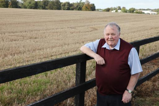Harry Kehoe worked for over 40 years at Teagasc Oakpark where he developed the Rooster variety of potato which now accounts for two thirds of the Irish market. Photos: Karl McDonagh