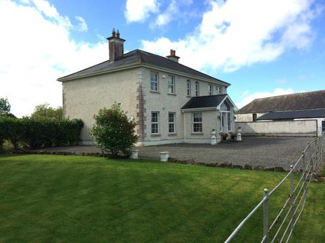 Mile Tree House residential farm on the outskirts of Birr was sold in lots