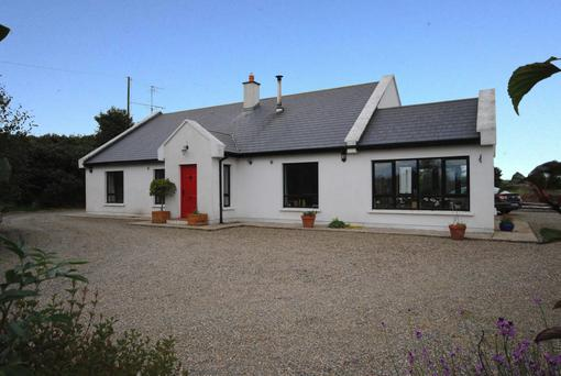 The Wexford fhouse at The Ballagh has been renovated to an excellent standard