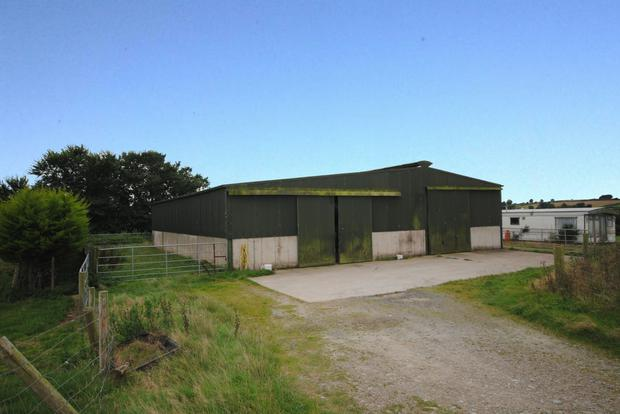 One of the sheds included in the smallholding