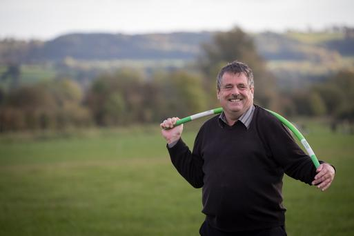 Richard Weldon has become an inventor and entrepreneur five years after losing the power in an arm in a farm accident. Photo: Dylan Vaughan