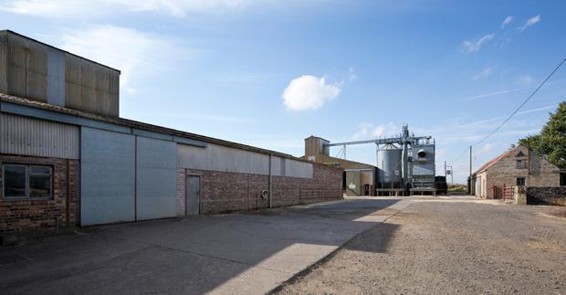 Facilities at Harrietfield, which include grain drying facilities and storage facilities for 1,950 tonnes