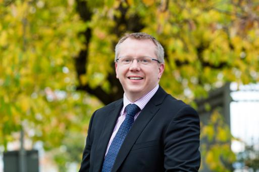 'There is a weight of expectation from current membership but also historical members,' says new Macra na Fairme ceo, Denis Duggan. Photo: Arthur Carron