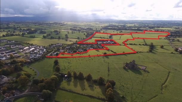 A parcel of land near Hoare Abbey is up for sale
