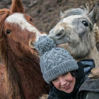 Martina Kenny, co-founder of the charity, My Lovely Horse Rescue.