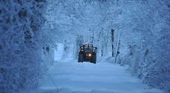 You can prolong your tractor engine's lifespan with some easy and inexpensive checks during wintertime. Photo: Roger Jones