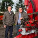 Noel and Ger Hickey believe their Safe Shaft System will help reduce PTO-related farm accidents. Photo: Patrick Browne
