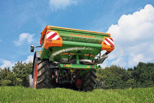 The Amazone ZAM 1201 is a 1 tonne spreader.