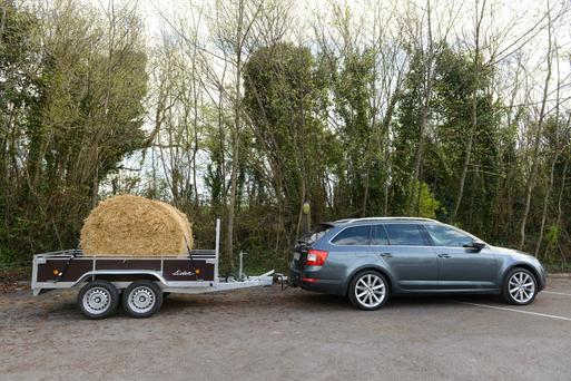 Long haul: The Skoda Octavia Combi. Licensing regulations around towing have become more complex in recent years