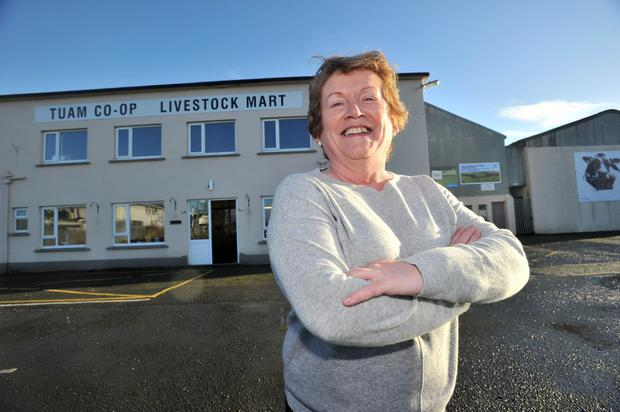 Marion Devane took over as manager of Tuam Mart ten years ago and has worked there for 27 years all in. Photo: Ray Ryan