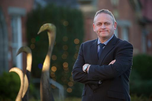 Bord na Móna CEO Mike Quinn returned from the US to take up the position