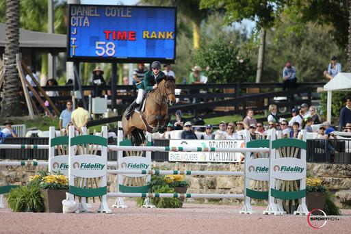 Daniel Coyle won the $75,000 Grand Prix during the opening week of the festival