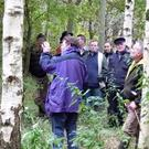 Consider joining your local Forest Owner Group. It is a great way to get to know other forest owners in your area. Photo: Teagasc.