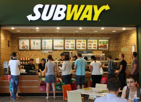 Subway has 4,000 restaurants across Europe and a 20-year relationship with Ireland