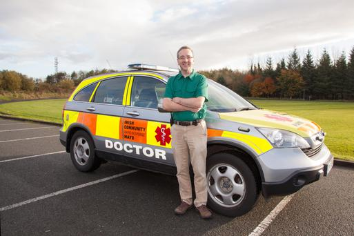 Dr Jason Horan is a consultant at Mayo University Hospital in Castlebar and volunteers with the Rapid Response service