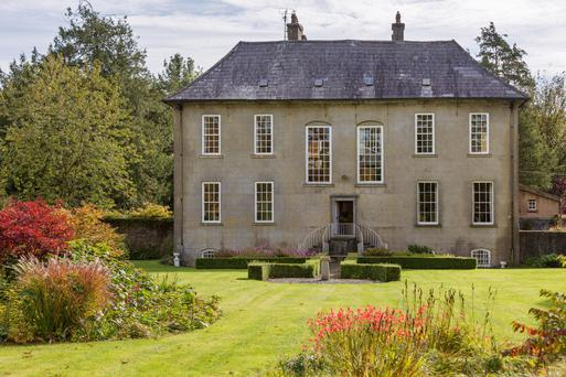 Bonnettstown House is considered one of Ireland's 'most perfect medium-sized early 18th century country houses'