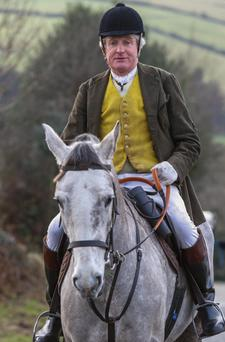 David Cosby has rarely missed a day's hunting this season