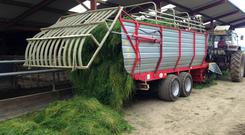 The AB 70 is designed to feed 60-100 cow herds