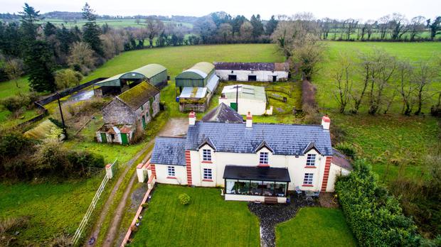 The residential holding at Ballyclough near Kilworth in east Cork